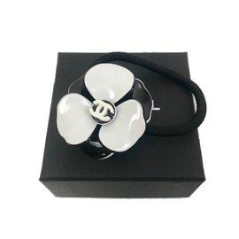 Chanel-Élastique camélia Chanel-Noir
