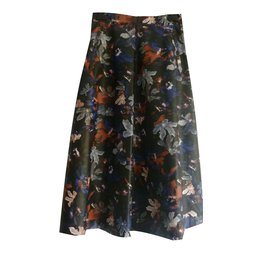 3fc8d9f66855 Zara-Faux leather midi skirt-Multiple colors ...