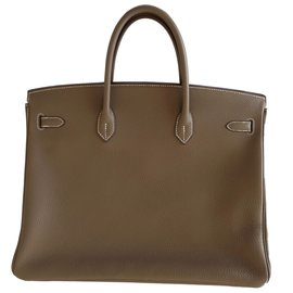 Hermès-Birkin 40 etoupe-Beige