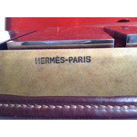 Hermès-malette de toilette-Beige