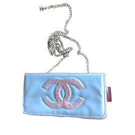 Chanel-Chanel vip gift clutch pochette-White