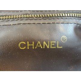 Chanel-Sac de voyage-Marron