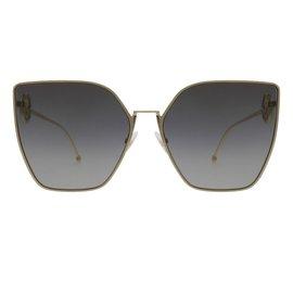 Fendi-Fendi lunettes ff0323/s sunglasses new-Argenté
