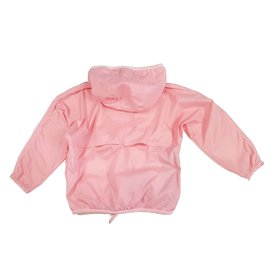 K-Way-Girl Coats outerwear-Pink