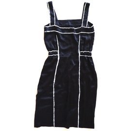 Yves Saint Laurent-Dresses-Black