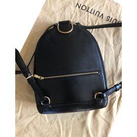 Louis Vuitton-Sacs à dos-Noir