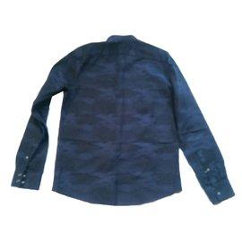 Iro-Chemises-Bleu