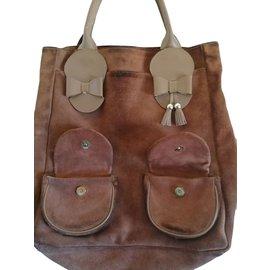 Gaspard Yurkievich-Handbags-Brown