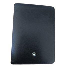 Montblanc-wallets-Black
