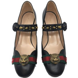 Gucci-Heels-Black