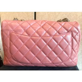 Chanel-Cruise collection Limited Edition Classic Pink  Flap bag-Pink