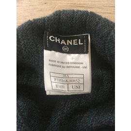 Chanel-Scarves-Green,Grey