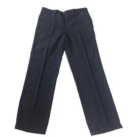 Hermès-Pantalons homme-Noir,Bleu Marine