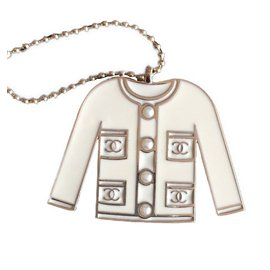 Chanel-Bag charms-White