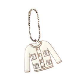 Chanel-Bijoux de sac-Blanc