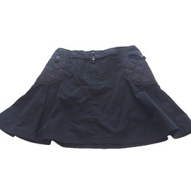 Moncler-Skirts-Navy blue