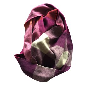 Burberry-Scarves-Purple