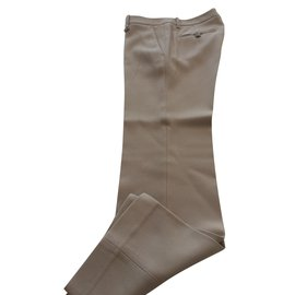 Gucci-pantalon beige-Beige
