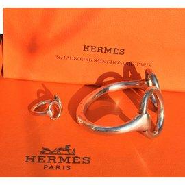 Hermès-Jewellery sets-Silvery