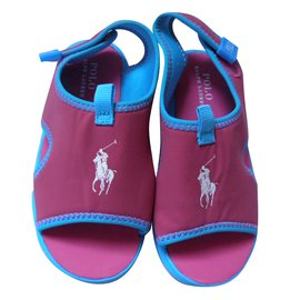Polo Ralph Lauren-Kids Sandals-Pink