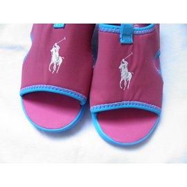 Polo Ralph Lauren-Kids Sandals-Pink