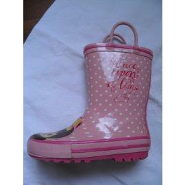 Autre Marque-Stiefel-Pink