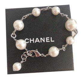 Chanel-Bracelets-Silvery,Beige
