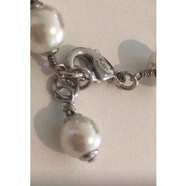 Chanel-Bracelets-Argenté,Beige