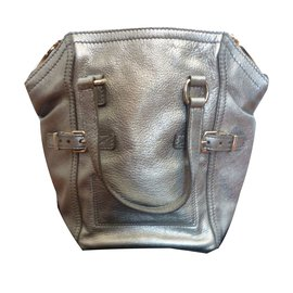 Yves Saint Laurent-Handtaschen-Silber