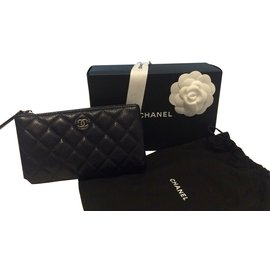Chanel-Purses, wallets, cases-Dark blue