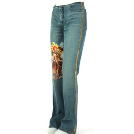 Autre Marque-Jeans-Bleu