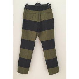Dries Van Noten-Pantalons-Multicolore