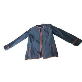 Chanel-Jackets-Blue