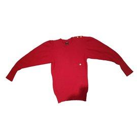 Chanel-Knitwear-Red