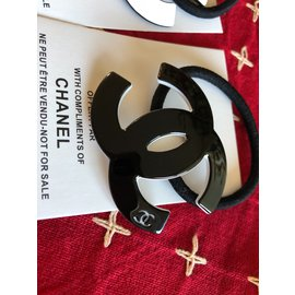 Chanel-vip gift hair ties-White