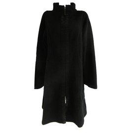 Hiroko Koshino-Coats, Outerwear-Black