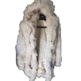 Yves Salomon-Coats, Outerwear-Beige