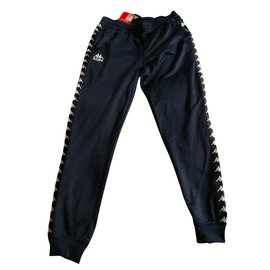 Autre Marque-Pantalons homme-Bleu foncé