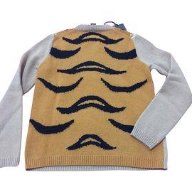 Gucci-Sweater tigre-Beige
