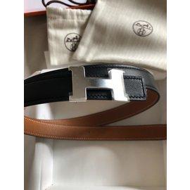 Hermès-Ceinture-Noir