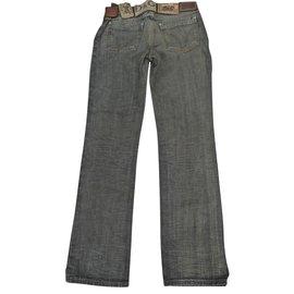 Dolce & Gabbana-Jeans homme-Noir