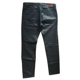 Dries Van Noten-Jeans homme-Noir