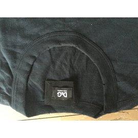 D&G-Tee shirts-Bleu Marine