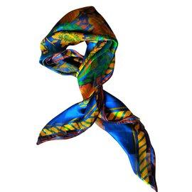 Lanvin-Carrés-Multicolore