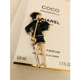 Chanel-Broches-Noir
