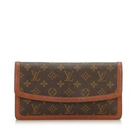 Louis Vuitton-Pochette Dame Monogram-Marron