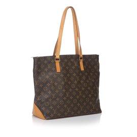 Louis Vuitton-Cabas Mezzo Monogramme-Marron