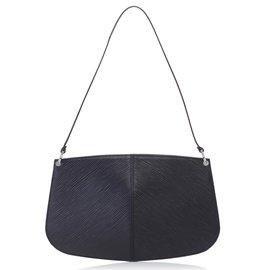 Louis Vuitton-Pochette Demi Lune Epi-Noir
