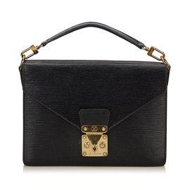 Louis Vuitton-Monceau cuir Epi-Noir