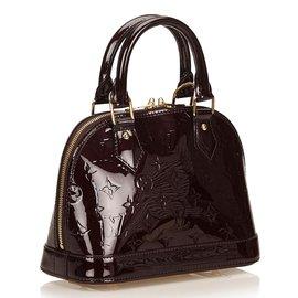 Louis Vuitton-Alma BB Vernis-Violet
